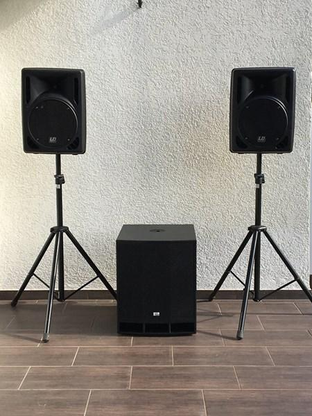 Low-Budget Set, LD Systems, Subwoofer